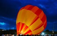 В Германии упал воздушный шар с людьми на борту