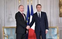 Обсудят Украину: Путин прибыл на встречу с Макроном