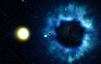 Обнаружена древнейшая сверхмассивная черная дыра