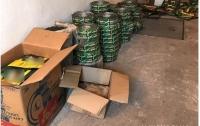 На Киевщине накрыли подпольный склад фальсифицированного кофе