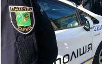 Неадекватный мужчина с палкой напал на копов в Харькове (видео)