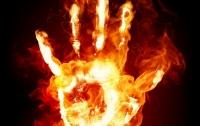 На Львовщине сгорел мужчина