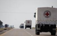 Красный Крест отправил на Донбасс 110 тонн гумпомощи
