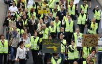 Lufthansa приземлилась - массовые акции протеста парализовали работу авиаперевозчика