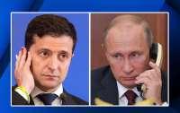 Зеленский провел телефонный разговор с Путиным: о чем договорились