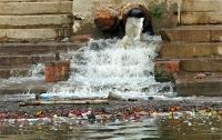 Северский Донец залили сточными водами