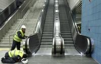 Несчастный случай: в Стамбуле рухнул эскалатор с людьми (видео)
