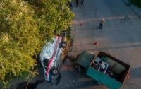 ДТП в Днепре: грузовик влетел в
