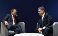 Туск и Порошенко проведут двухстороннюю встречу на Мальте