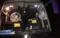 В Ровно автобус с прихожанами забросали камнями – СМИ (видео)