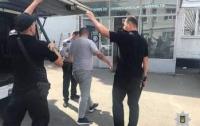 Неизвестные похитили человека в Днепре (видео)
