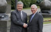 Порошенко и Тиллерсон договорились о Комиссии стратегического партнерства