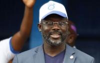 Звезда футбола Джордж Веа избран президентом Либерии