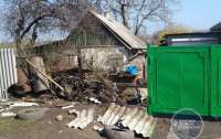 Российские наемники обстреляли жилой дом на оккупированной территории
