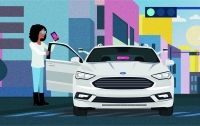 Ford и Lyft объединились для продвижения беспилотных такси