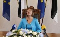Президент Эстонии пообещала переехать в русскоязычную Нарву