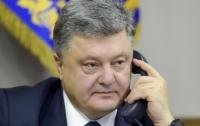 Порошенко провел телефонный разговор с генсеком ООН