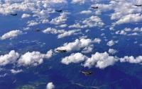 ВВС Южной Кореи поднялись в небо для перехвата китайского военного самолета