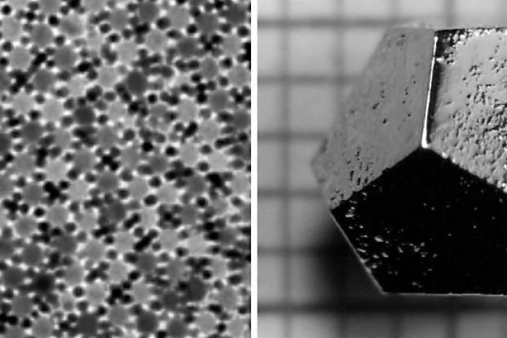 Ученые обнаружили вРоссии третий квазикристал внеземного происхождения