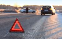 Жуткое ДТП под Киевом: столкнулись более пяти автомобилей (видео)