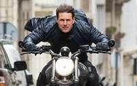 Том Круз попал в аварию с мотоциклом
