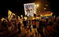 Израильтяне возобновили протесты против премьер-министра Нетаньяху