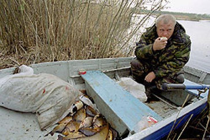 браконьерство на рыбалке в украине
