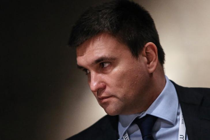 Климкин обсудил сЛавровым вопрос освобождения украинских политзаключенных