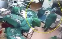 Без наркоза: в Китае хирурги подрались во время операции (видео)