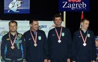 Украинские шпажисты выиграли «бронзу» чемпионата Европы