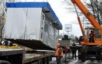В столице во время демонтажа МАФов произошла перестрелка