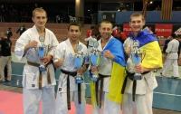 Украинская сборная завоевала 2 золотых и 2 серебряных медали на Чемпионате Европы по Карате Киокушинкайкан
