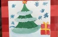 Ребенок с Донбасса сделал трогательную открытку для сил АТО