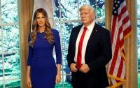В Нью-Йорке представили восковую копию Меланьи Трамп