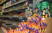 В Украине у торговцев изъято 14,5 тыс. единиц пиротехники
