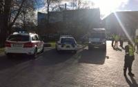 В центре Таллина застрелили мужчину, размахивавшего ножами