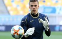 Голкипер сборной Украины вошел в финальную 20-ку претендентов на приз Golden Boy