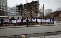 В Одессе протестовали против застройки побережья высотными