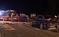 В Польше столкнулись 16 автомобилей, пострадали люди