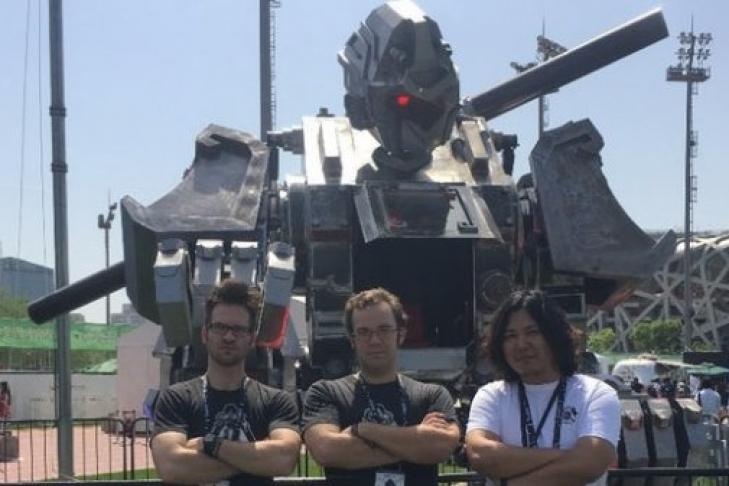 ВКитае построили гигантскую обезьяну-робота ФОТО,