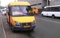 Неадекватный пассажир устроил дебош в маршрутке (видео)