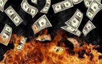 Взломщики банкомата случайно сожгли хранившиеся в нем деньги