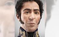 В Венесуэле показали реконструированный 3D-портрет национального героя Южной Америки