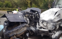 В Киеве в результате ДТП погиб полицейский, ехавший на работу (видео)
