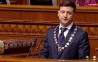 Зеленский заявил, что он хочет войти в историю