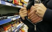 Уже несколько тысяч магазинных краж совершили с начала года