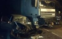 Смертельное ДТП на Винничине: легковушка влетела под грузовик