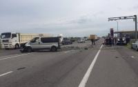 На одесской Объездной столкнулись 4 авто, погиб мужчина