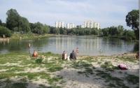 На подоле осушили озеро «Голубое»
