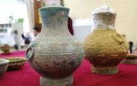 В Китае нашли древний сосуд с